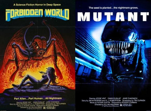 forbidden world mutant english horror movie full