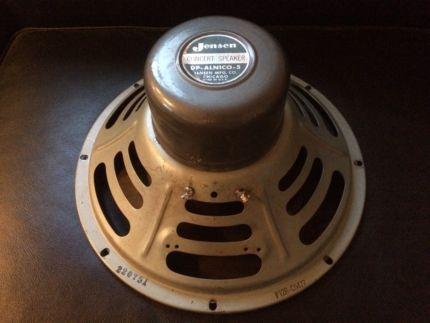 Vintage 1957 Jensen USA P12R Speaker für Fender Tweed Deluxe 5E3 - ebay küchenmöbel gebraucht