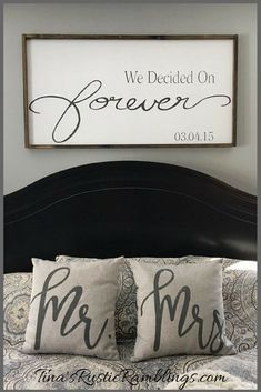 Large Wooden Sign Home Decor Bedroom Home Home Decor