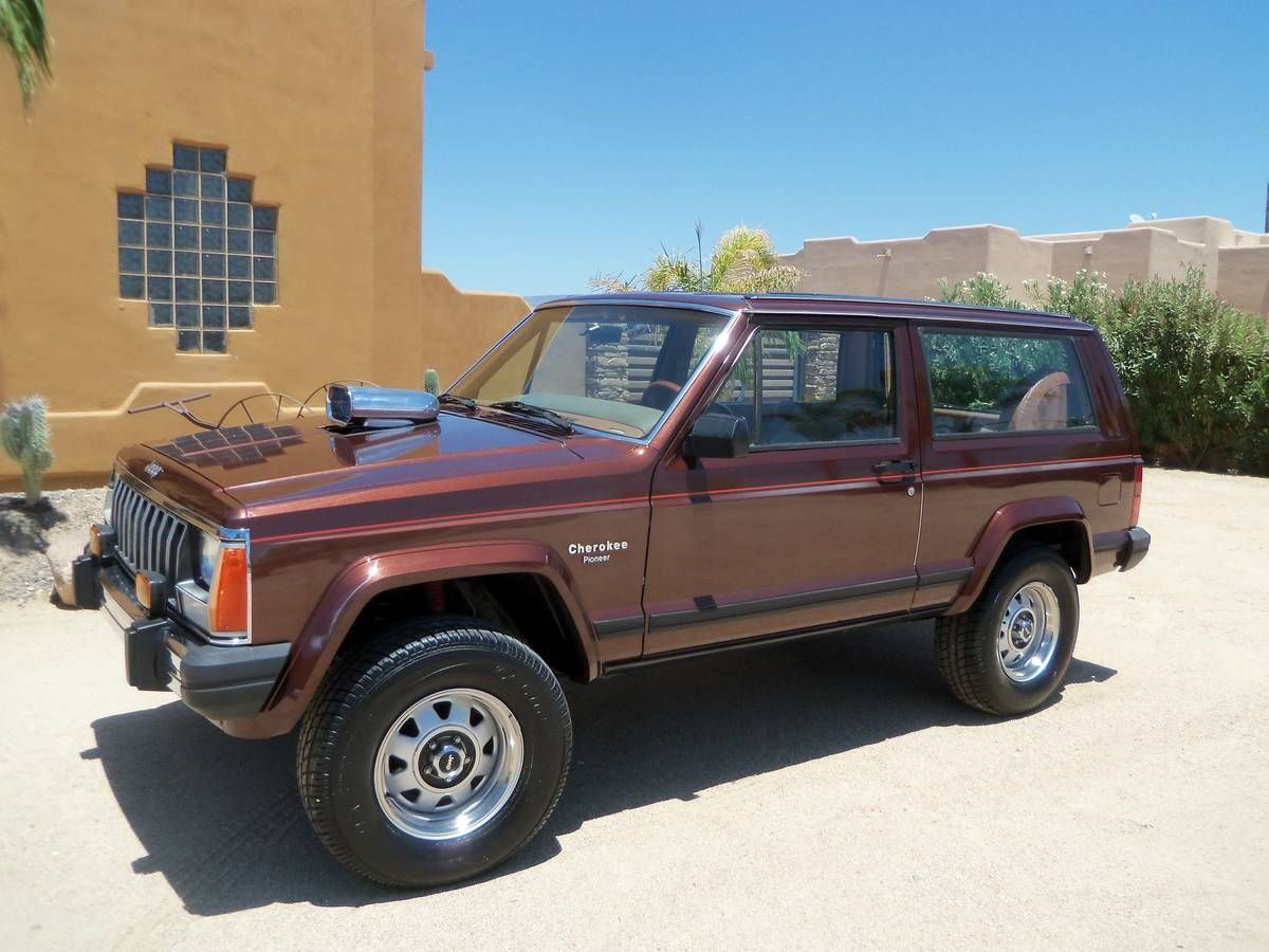 1984 Cherokee With A Supercharged Chevy 350 V8 Posi