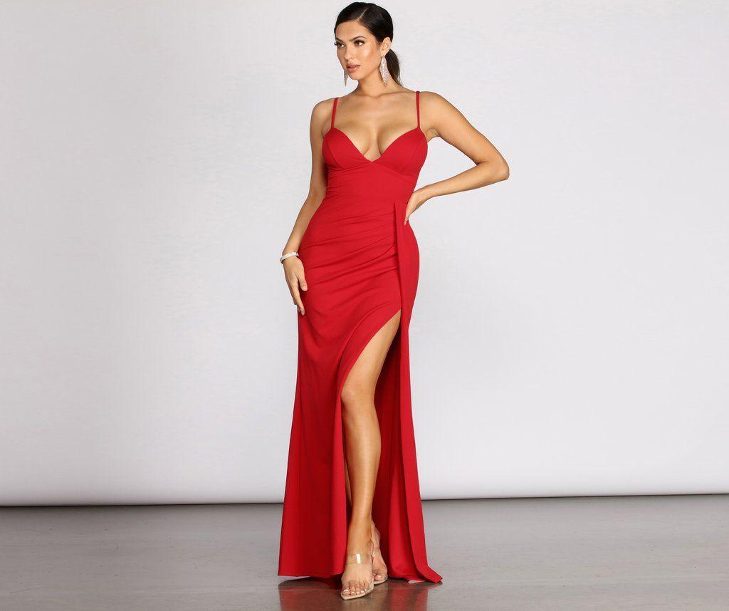 Emmy Crepe Ruched Wrap Dress In 2020 Dresses Unique Dresses Wrap Dress