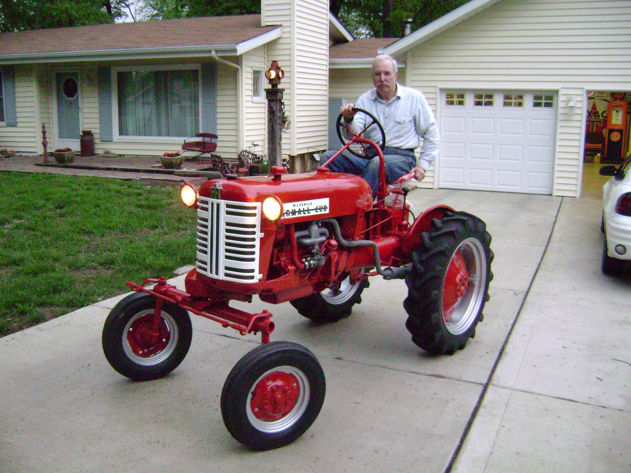 Restored Ih Tractors : My dad s restored farmall cub pics trains planes