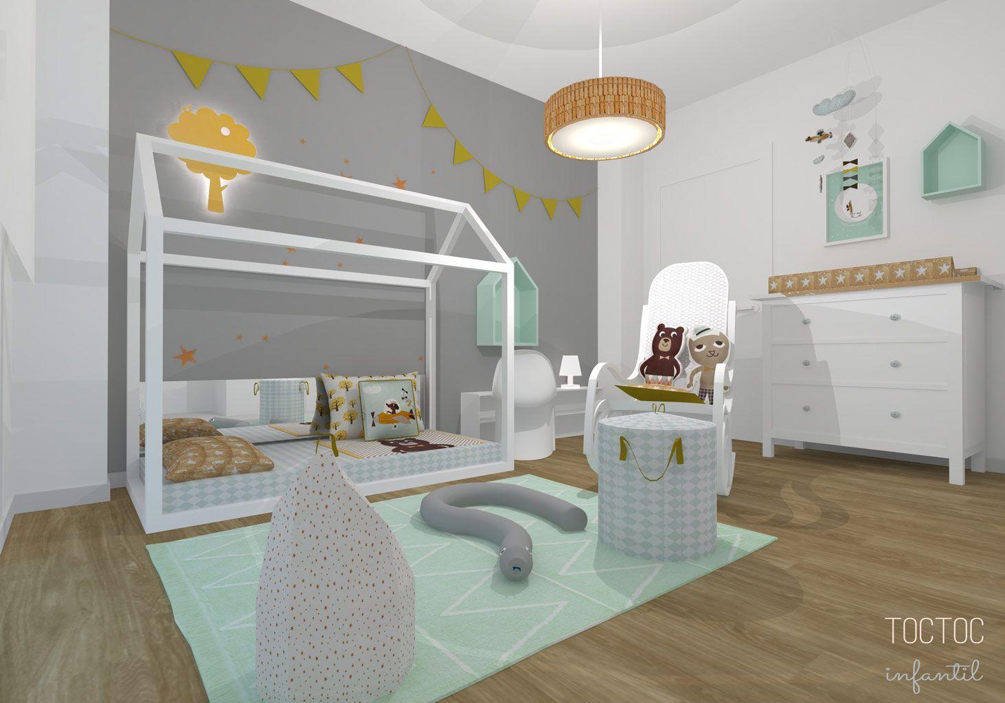 Montessori mint y mostaza toc toc infantil http www for Cuarto xl mostaza