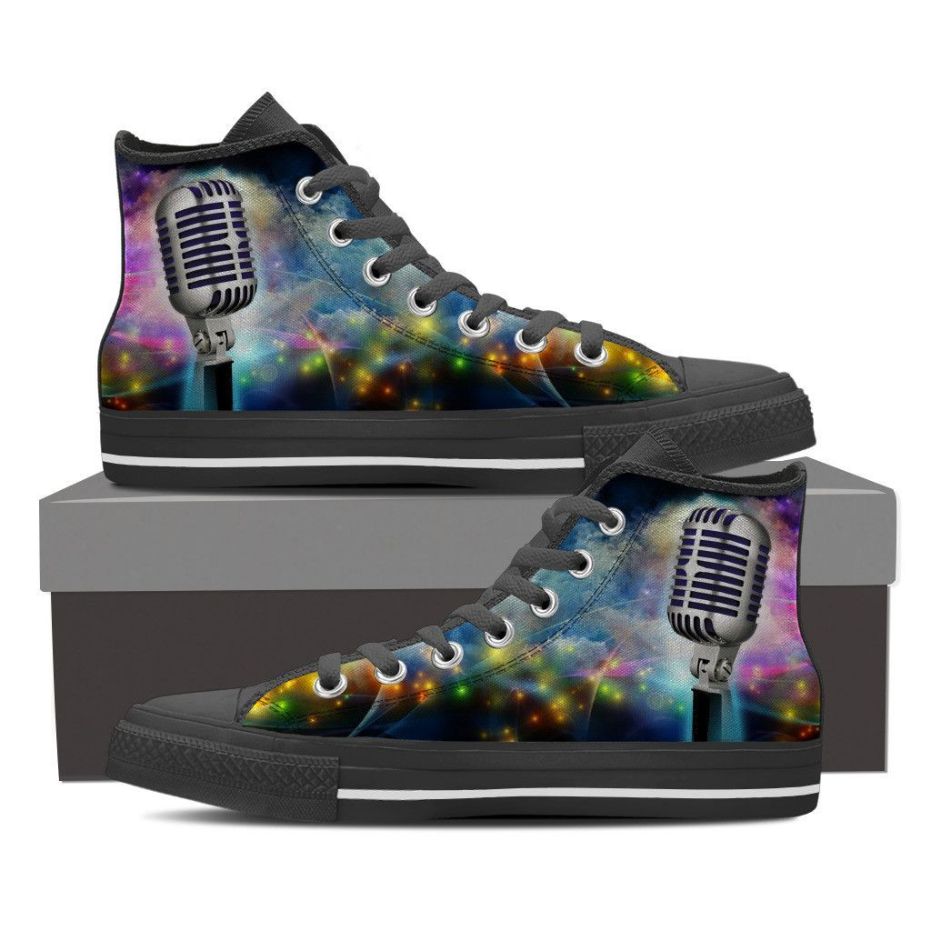 4e36de81bbc Are you passionate vocalist  These custom printed shoes are the perfect way  to show off