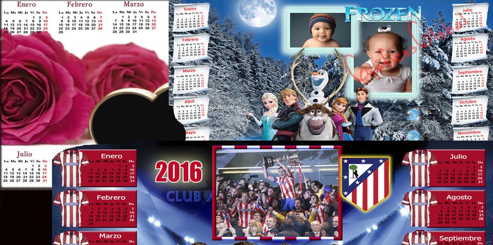 calendario2017 plantillas psd para crear calendarios 2017 futbol ...