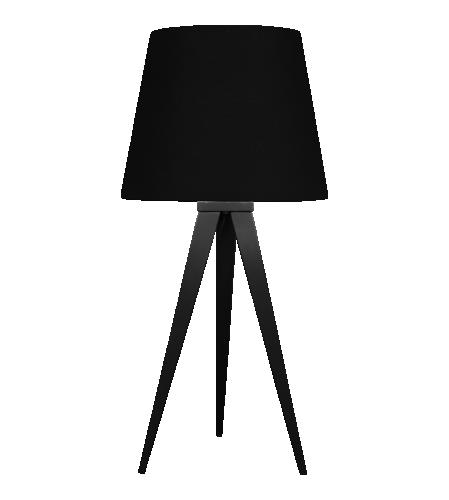 Lampe De Table Metal Noir