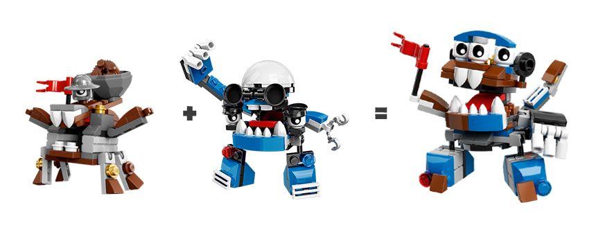 LEGO.com Mixels Explorar - Murp - Kuffs Mixadel Murp