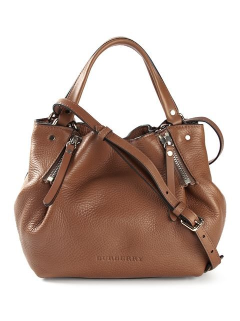 064bbf78f815 Shop Burberry zip detail bucket tote in Stefania Mode from the world's best  independent boutiques at farfetch.com. Over 1000 designers from 300  boutiques in ...