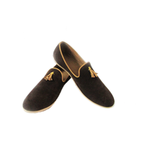 77126422b4d Brown Suede Stylish Loafer Shoe