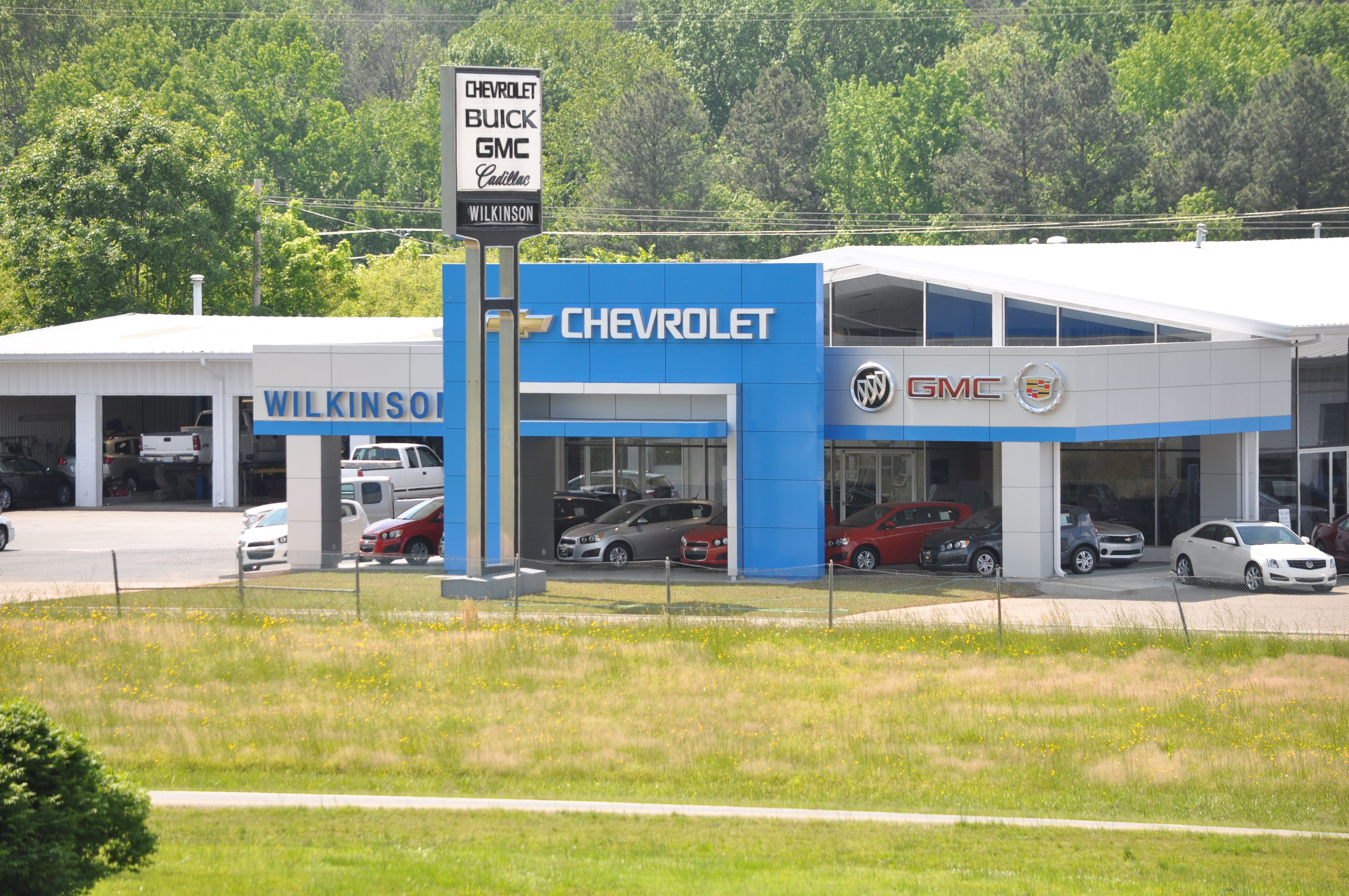 Wilkinson Chevrolet Remodel In Sanford North Carolina Designed By Plageman Architecture North Carolina Car Dealership Buick Gmc Chevrolet