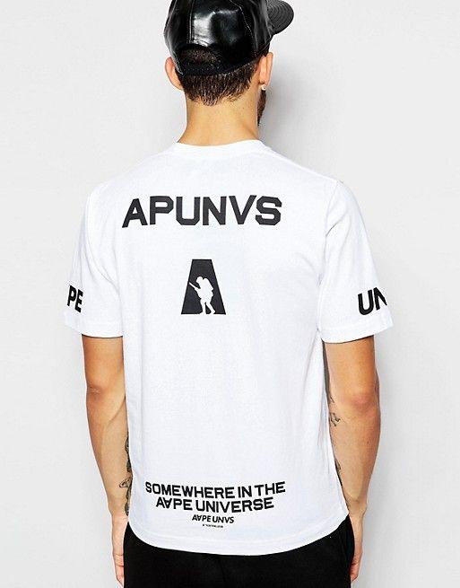 Camiseta de AAPE By A Bathing Ape | Polo, Camisetas y Ventas
