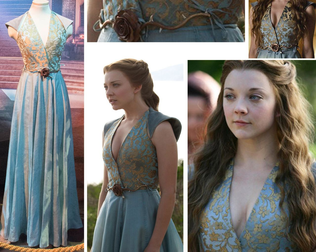 Margaery Tyrell Costume Back | www.imgkid.com - The Image ...