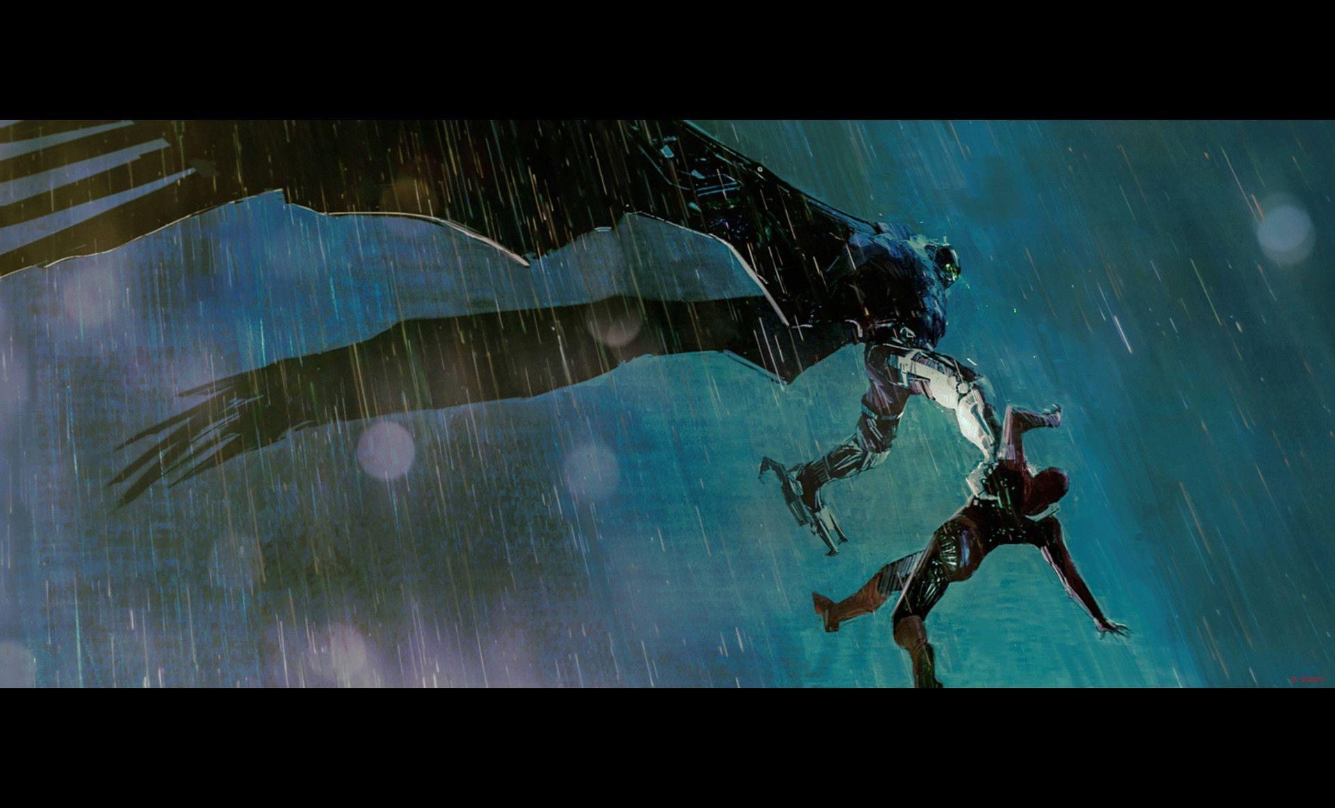 Artstation Spider Man Homecoming Alexander Mandradjiev Arte Conceptual Peliculas De Animacion Artistas