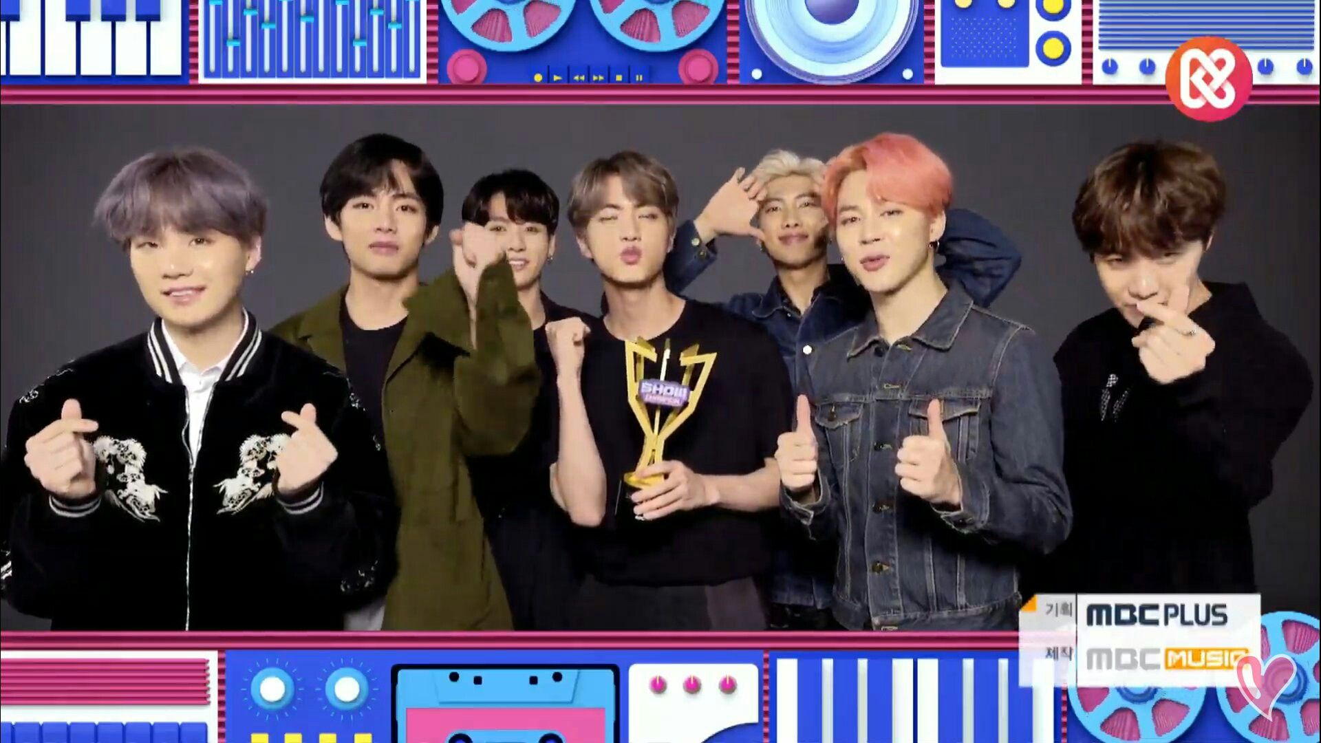 Boy With Luv Wins 1st Place On Mbc Music Show Champion Bts Young Forever Bts Suga
