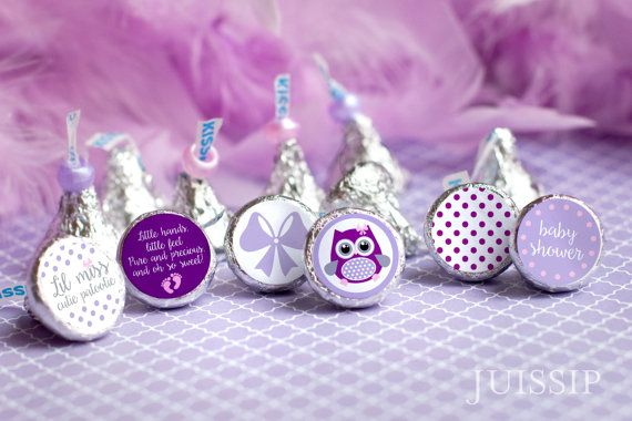 Baby Shower Favors Labels ~ Printed for you personalized baby shower hershey kiss label