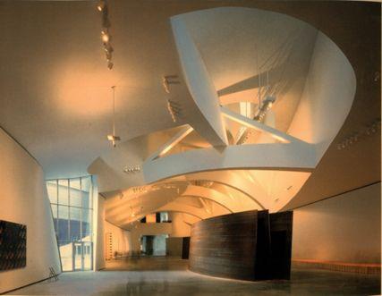 Double Torqued Ellipse Designer Richard Serra Location Guggenheim Museum Bilboa 1997