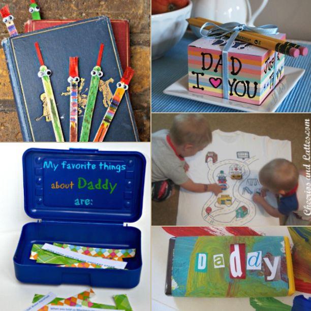 Excepcional 15 ideias de presentes feitos pelas crianças para o dia dos pais  WJ45