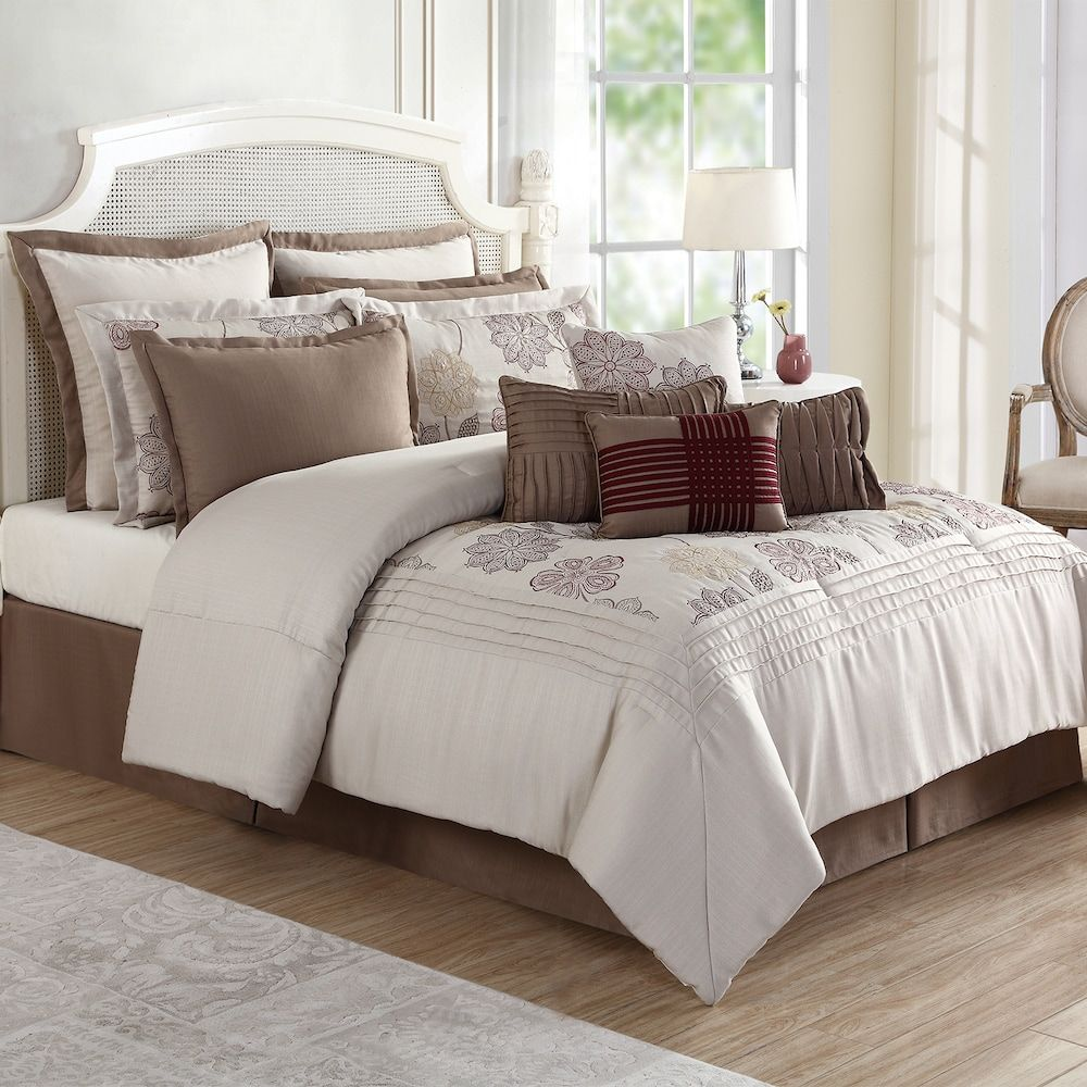 Cora 12 Pc Comforter Set Comforter Sets Comforters Bed