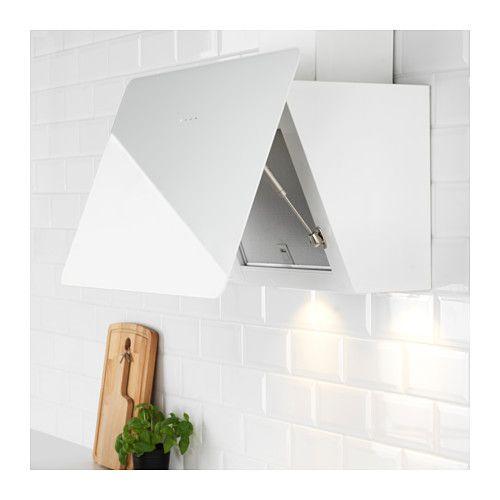 BEJUBLAD Cappa da fissare alla parete, bianco   ECO & DIY ...