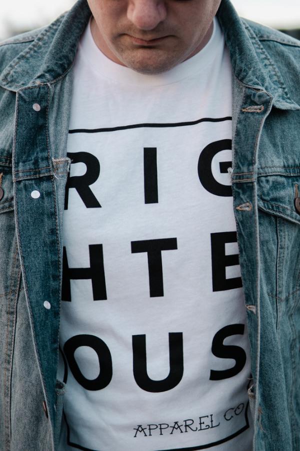 a70c9c02b4 White   Black T-shirt