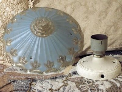 A Junkee Shoppe Junk Market Stop: CEILING LAMP Hanging Glass Electric Antique Fixture ... For Sale Click Link Here To View >>>> http://ajunkeeshoppe.blogspot.com/2015/12/ceiling-lamp-hanging-glass-electric.html
