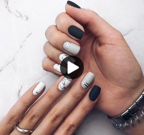 10 ontwerpt elegante nagels voor wie houdt van korte nagels