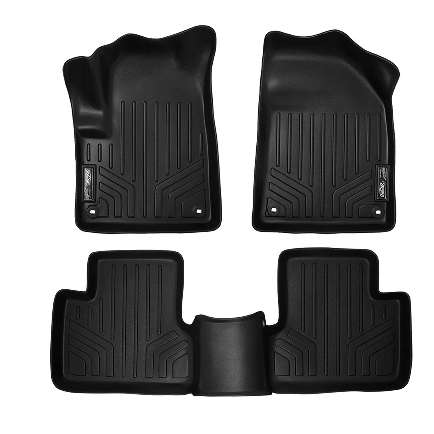 Smartliner Floor Mats 2 Row Liner Set Black For 2014 2019 Jeep Cherokee Check This Awesome Product By Going To Th Jeep Cherokee Jeep Cherokee 2014 Floor Mats
