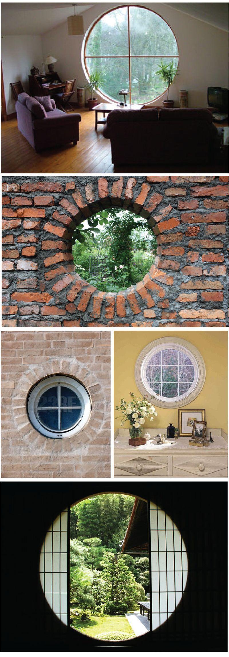 I love round windows | For the Home | Pinterest | Anbau, Wohnideen ...