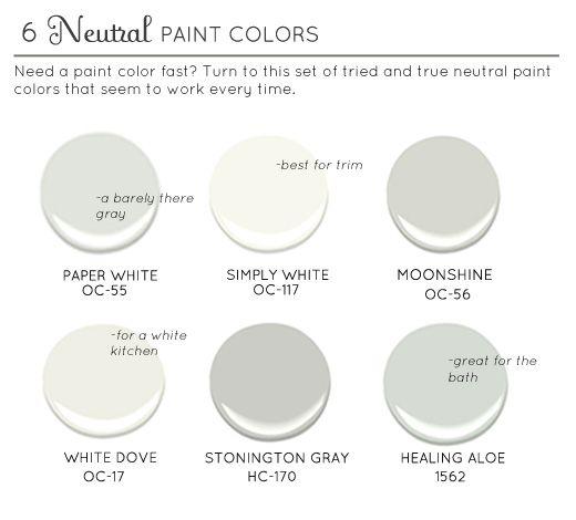 Paint: Whole House Color Palette