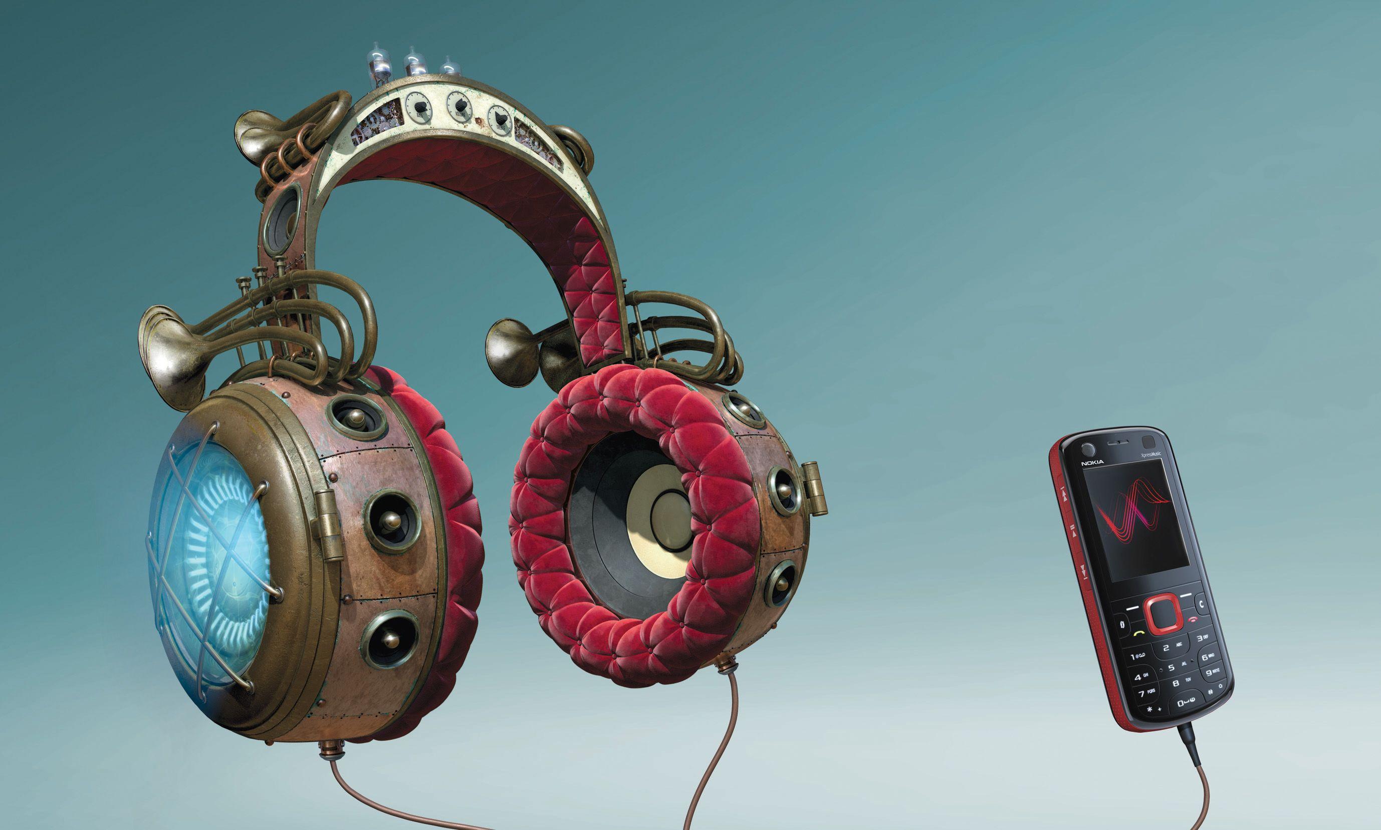 Nokia Headphones | Freelancers 3D