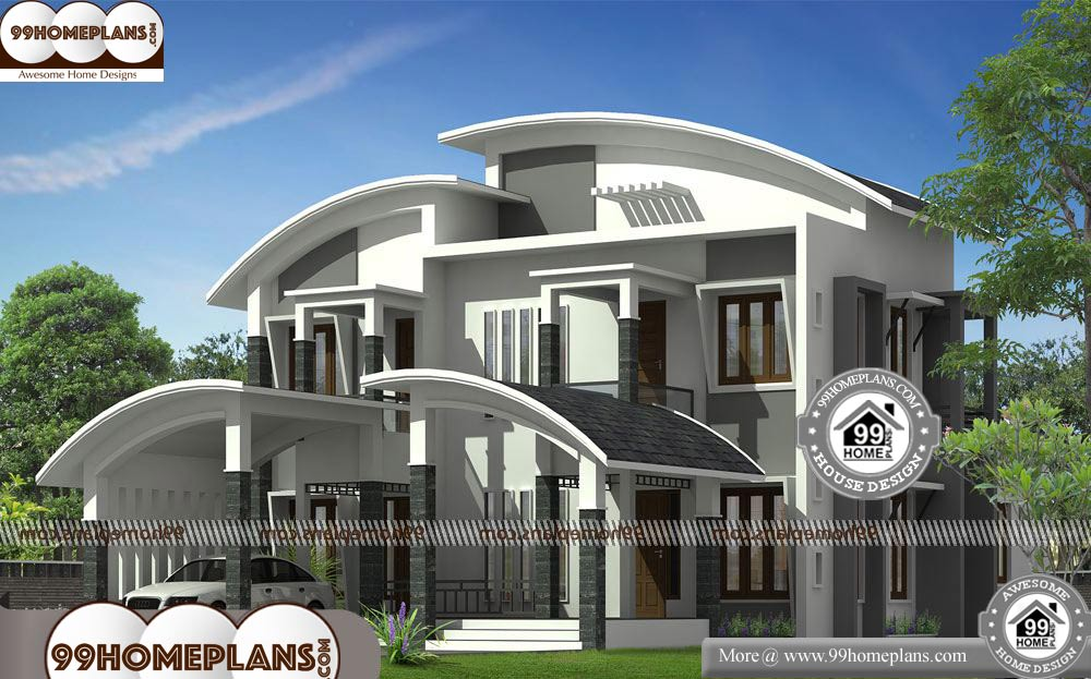 New House Design Photos 90 Two Storey Residential Building Plan Ideas House Design Photos House Design New Home Designs
