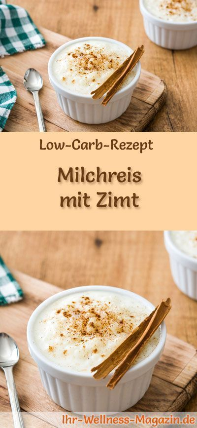 gesunder low carb milchreis mit zimt fr hst ck 3 low carb s igkeiten low carb milchreis. Black Bedroom Furniture Sets. Home Design Ideas