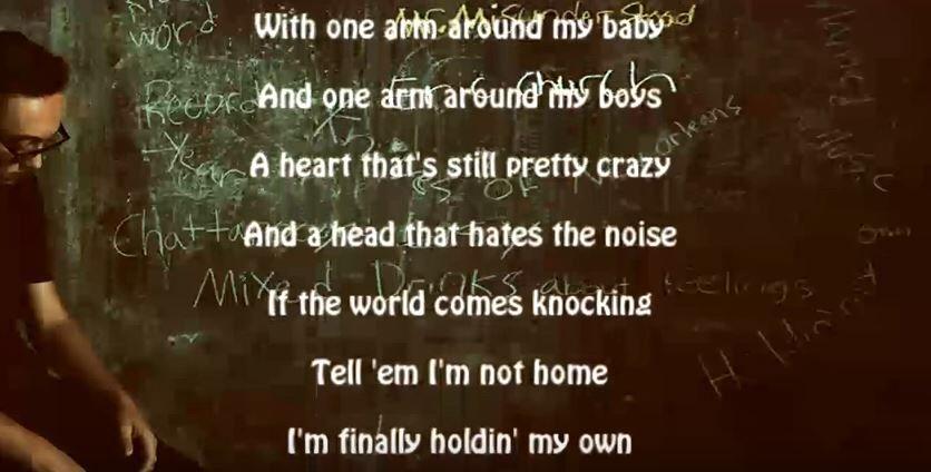 Eric Church Holdin My Own Eric church, Own quotes, Lyrics