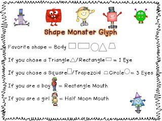 monster glyphmaybe add agehair squiggles teethhave siblings - Halloween Glyphs