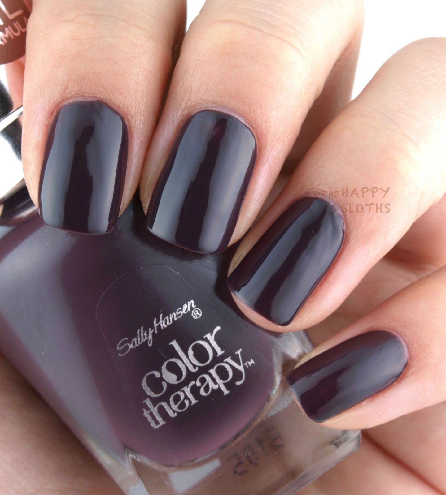 Sally Hansen Color Therapy Nail Polish: Review and Swatches | Sally ...
