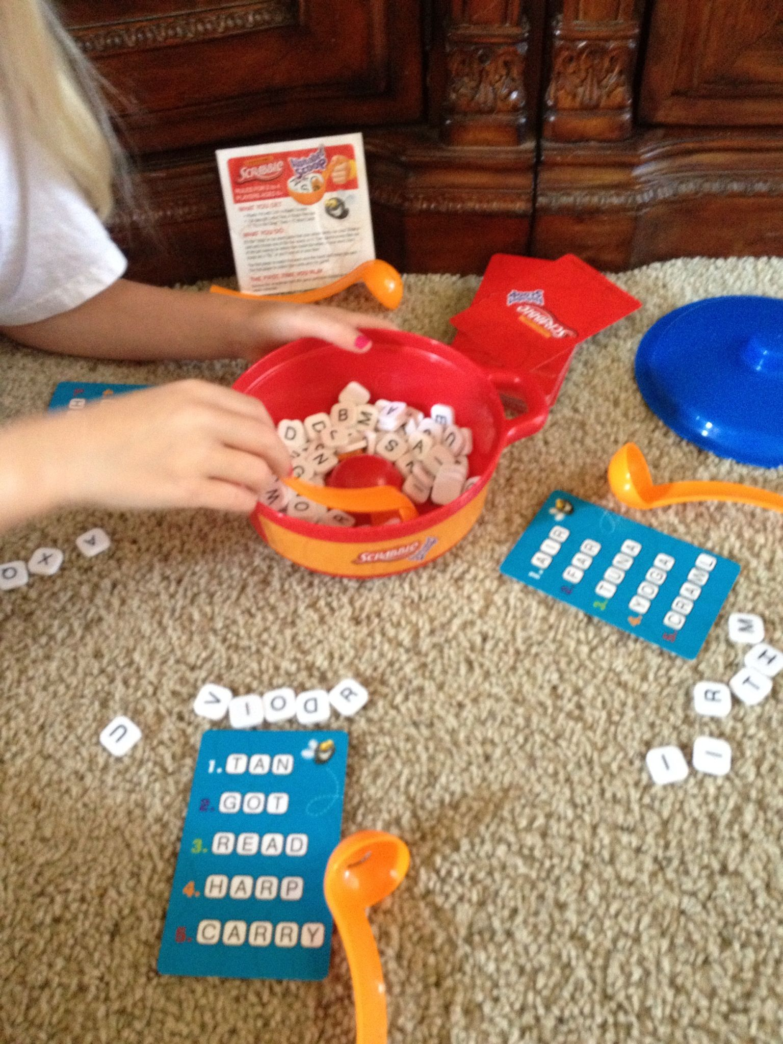 Great Reading Game For Centers Called Scrabble Alphabet