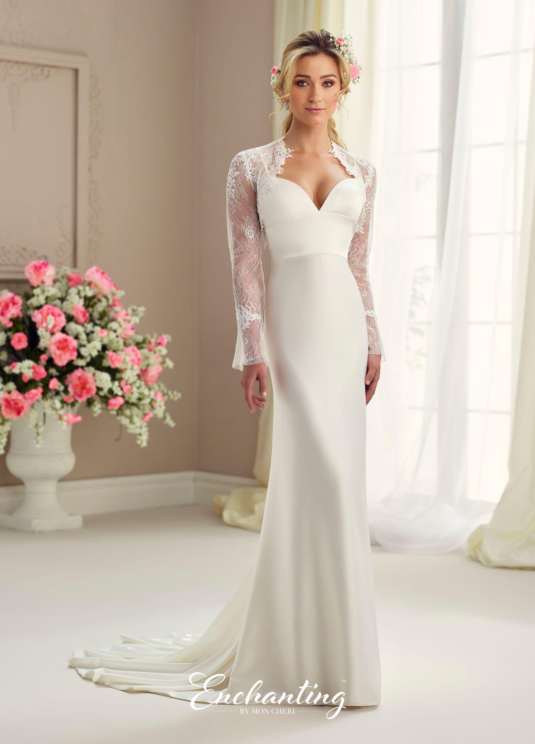 lace bolero wedding and wedding dress
