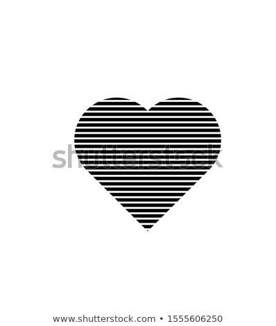 Black Heart Lines Icon Vector Illustration Heart Icons Vector Illustration Icon