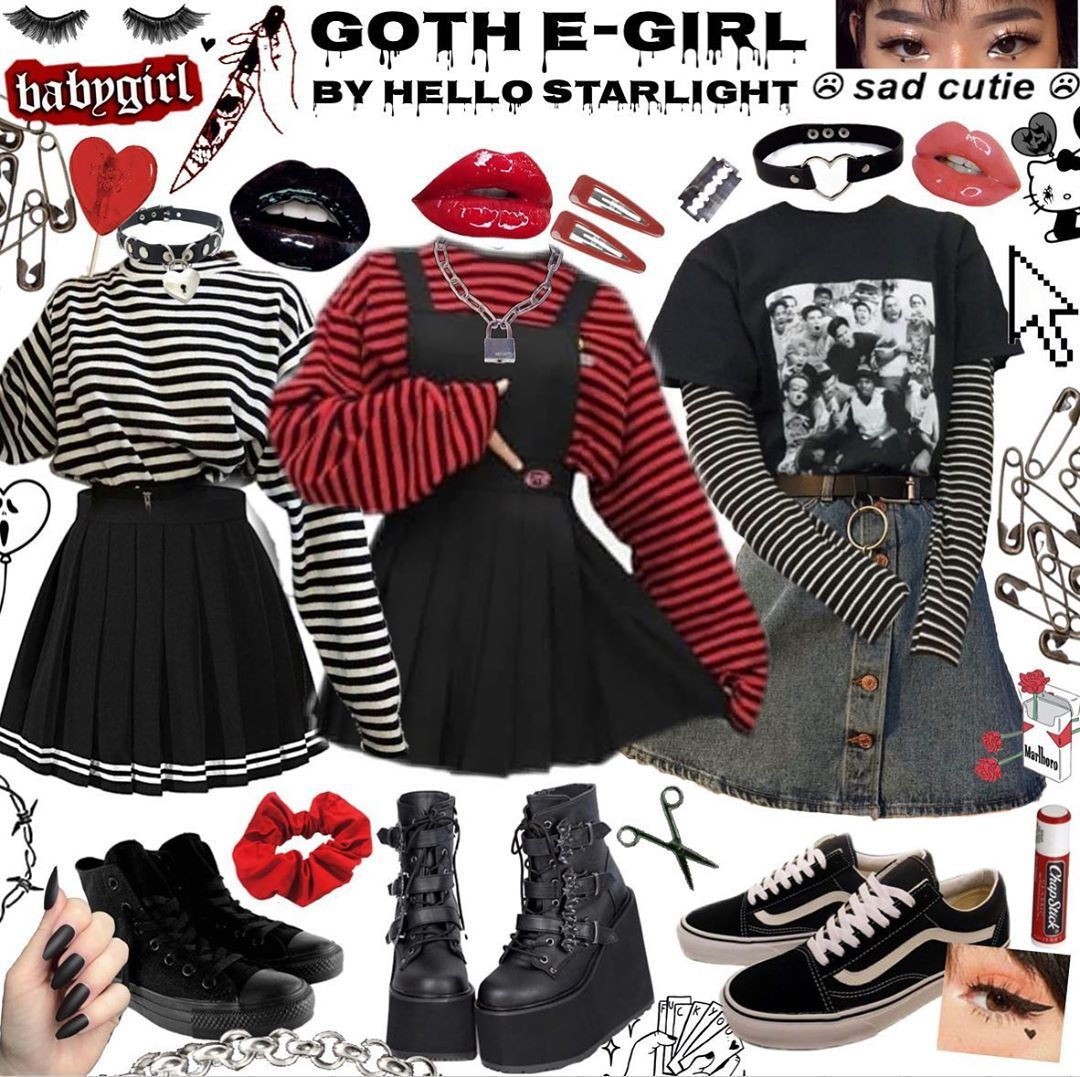 ✨✨Hello, Starlight!✨✨ on Instagram \u201c🖤Goth e,girl
