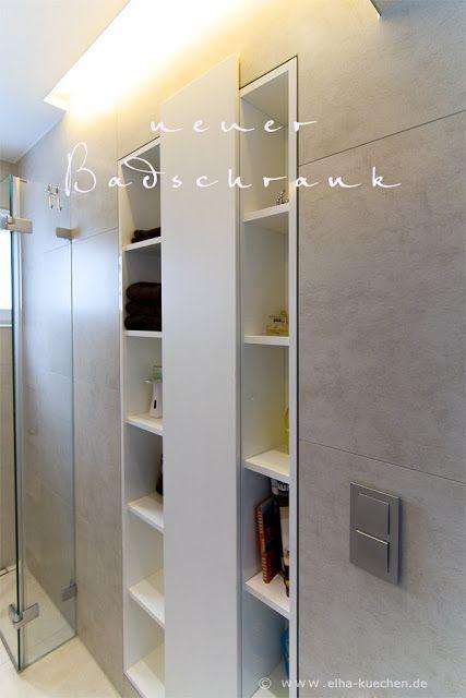 einbauschrank f r ein sehr kleines bad mit dusche ideen badezimmergestaltung. Black Bedroom Furniture Sets. Home Design Ideas