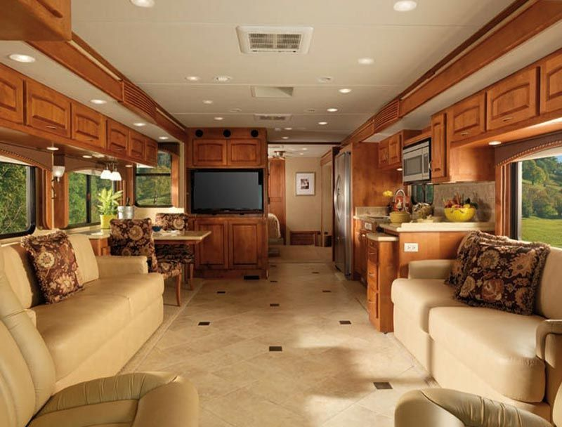 Luxury Rv Interiors Diplomat Class A Motorhome Interior