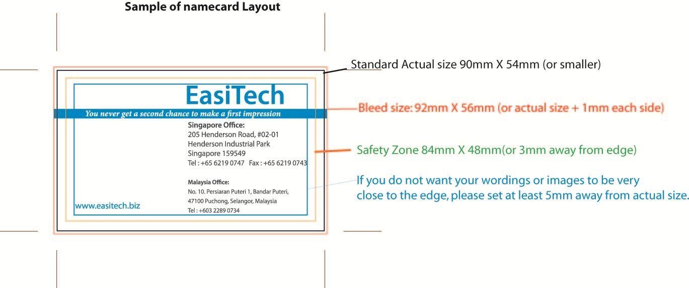 Standard Name Card Size Visitenkarten Karten Visitenkarten Design