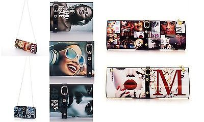 Magazine Clutch Evening Bags Hard Case Collage Buckle Party Style Trend Women | eBay