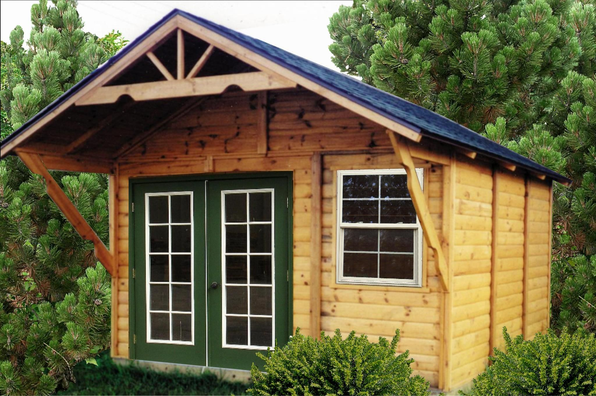 Garden shed ideas wooden storage shed plans home Tiny house in backyard