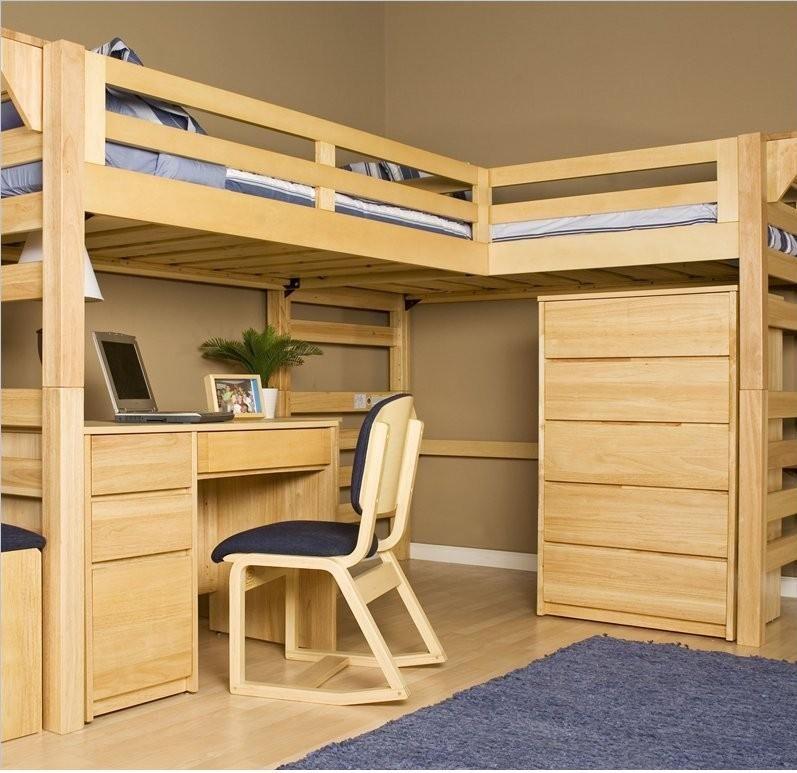 Super Original Loft Bed Plans The Woodworking Plans Site Diy Idea