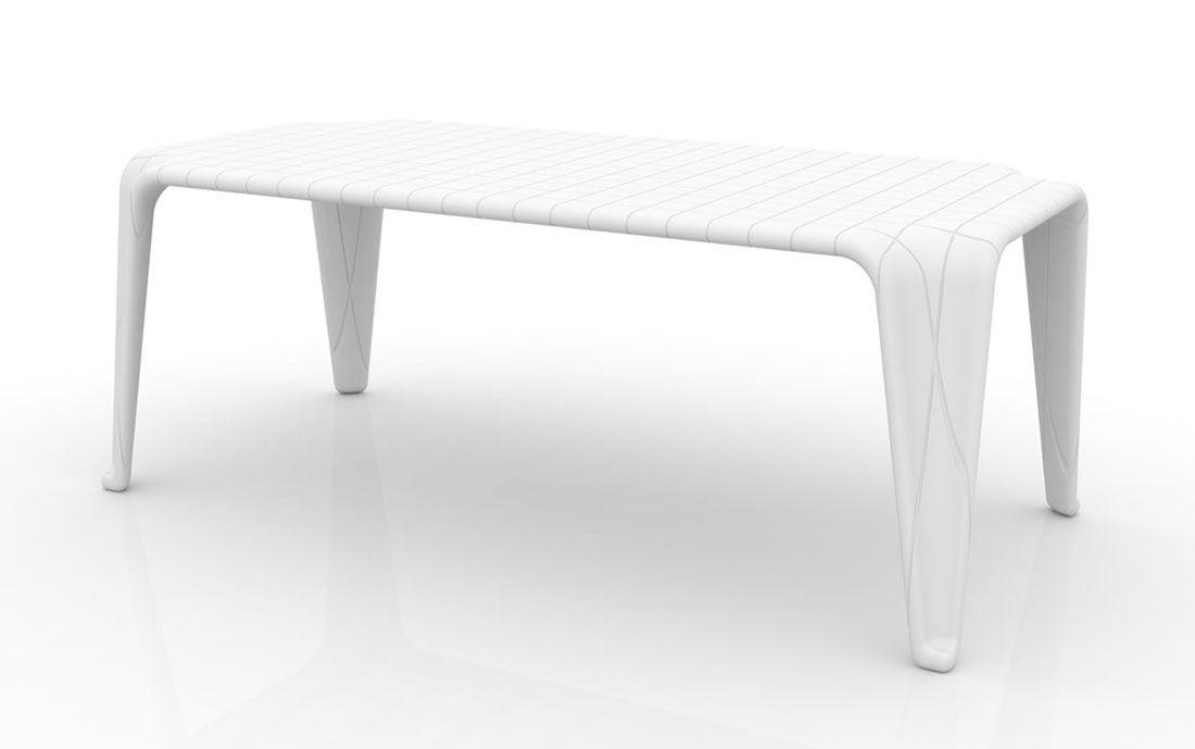 F3 Tisch - Möbel / Gartenmöbel / Gartentische - Der Designer-Tisch - gartenmobel kunststoff design