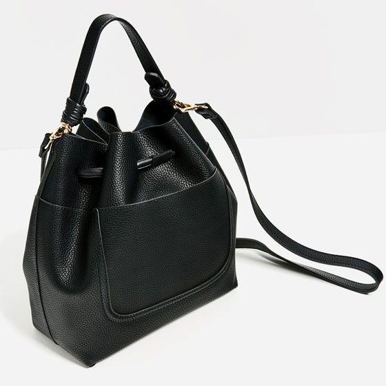 1 7 17 29 9 Image 5 Of Drawstring Bucket Bag From Zara
