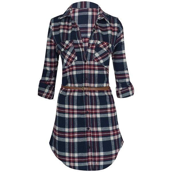 15+ Long sleeve plaid dress info