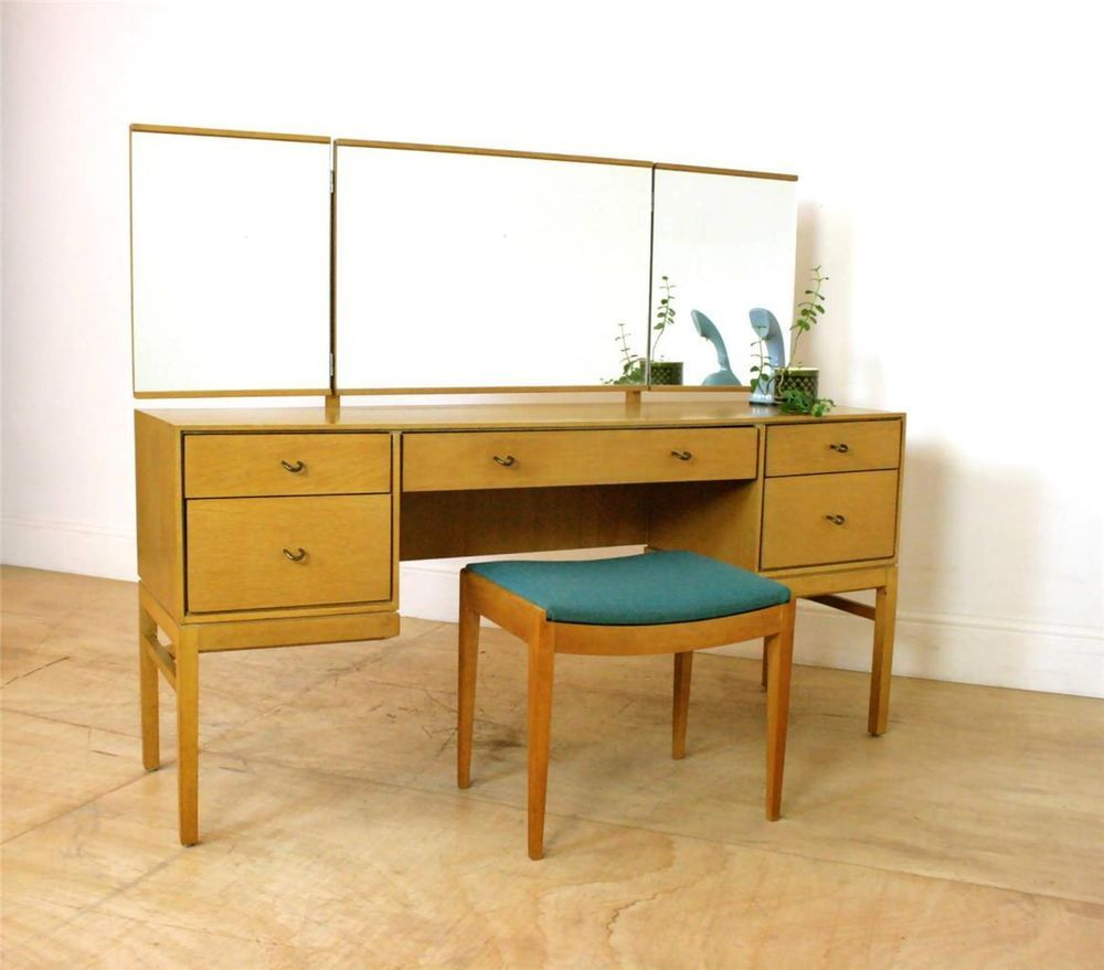 Mint john sylvia reid mid century retro functional dressing mint john sylvia reid mid century retro functional dressing table vanity desk geotapseo Choice Image