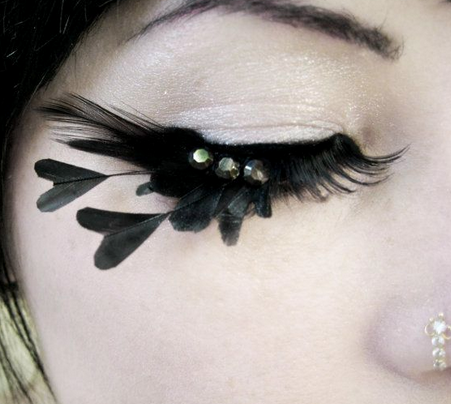 Pin by Petr Simon Fridrich on Lashes | Feather eyelashes ...